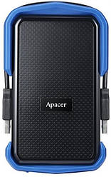 "Жесткий диск HDD ext 2.5"" USB 1.0TB Apacer AC631 Black/Blue (AP1TBAC631U-1)"