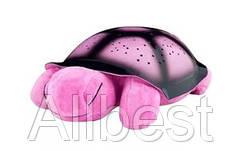 Ночник черепаха Turtle Розовая