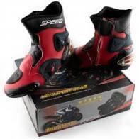 Мотоциклетні Черевики PROBIKER mod:A004, size:45, червоні
