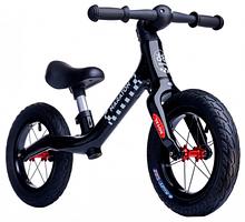Беговел Maraton Royal Black, колеса 12 дюймів, чорний, для дітей