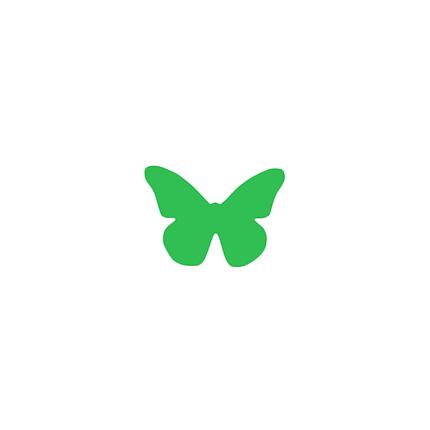 Декор: Метелик маленька зелена, фото 2