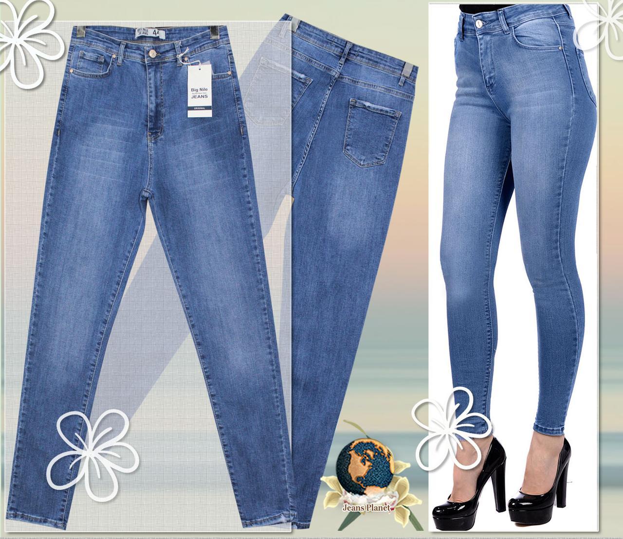 Модные зауженные женские джинсы скинни Американка большие размеры