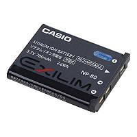 Акумулятор для відеокамери Casio NP-80 / Olympus LI-42 (760 mAh)