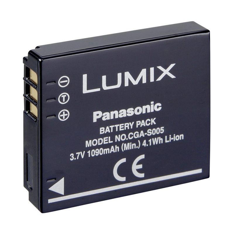 Акумулятор для фотоапарата Panasonic CGA-S005 / DMW-BCC12 (1150 mAh)