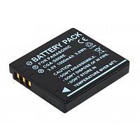 Аккумулятор для фотоаппарата Panasonic CGA-S008E / DMW-BCE10 (1000 mAh)