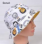 Красивая Детская панамка для мальчика, фото 3