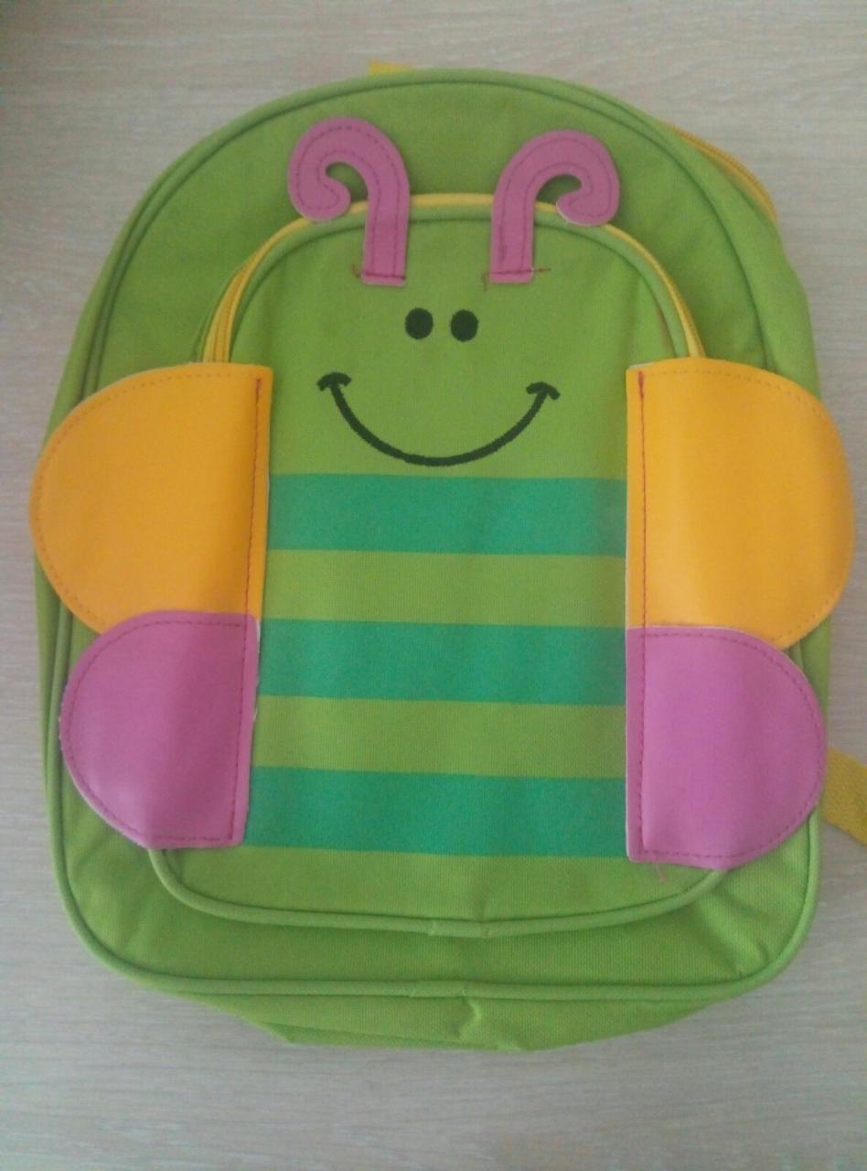 Маленький дитячий рюкзачок для малюків Baby Tilly тварини для дитячого садка, рюкзак метелик  S1