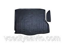 Килимок в багажник Mercedes CLA-Class C117 з 2014- (Avto-Gumm) пластік+гума