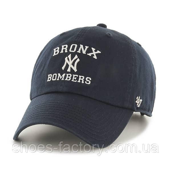 Кепка унисекс 47 Brand Script Yankees Bronx Bombers (B-RGWSC17GWS-NYA)