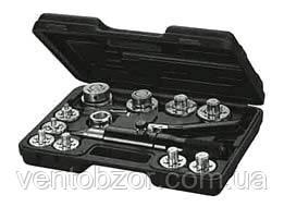 Труборасширитель гидравлический Mastercool (10, 12, 15, 16, 18, 22, 28 мм + ример,в кейсе)