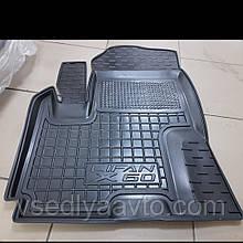 Водительский коврик Lifan X60 (AVTO-GUMM)