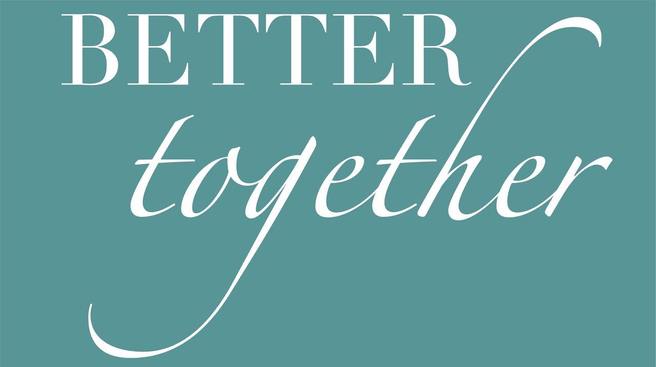 """Налейка Better together біла (18"""")25х14 см"""