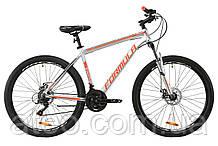 """Велосипед AL 27.5"""" Formula THOR 1.0 AM DD рама-19"""" 2020 срібно-чорний"""
