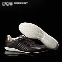 Мужские кожаные кроссовки Adidas Porsche Design TYP 64 2.0 в наличии, коричн. Размер 41-46