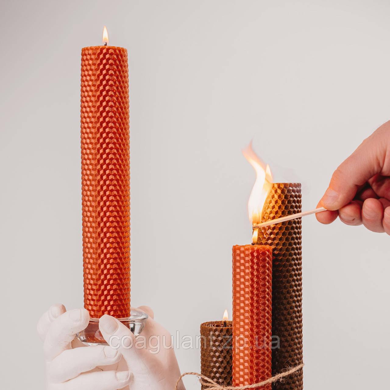 Медовые свечи в доме. Релакс, комфорт и уют.