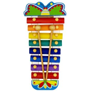 Ксилофон «Стрекоза» детская музыкальная игрушка.