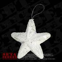 Новогодняя игрушка на ёлку Звезда подвесная