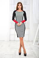 """Стильное молодежное платье мини """" Гусиная лапка """" Dress Code, фото 1"""