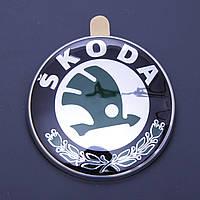 Логотип эмблема Skoda 79мм, фото 1