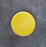 Блюдце 135 мм жовте, фото 2