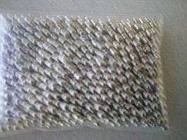 Цукрові кулькі срібло 6 мм (0,020 грм)