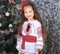 Красивая вышиванка для девочки, фото 1