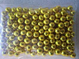 Цукрові кульки золоті 5 мм (0,020 грм)