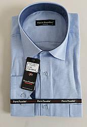 Мужская классическая рубашка «Pierre Passolini» с длинными рукавами (M-2XL)