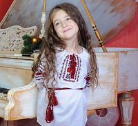 """Модная  вышиванка для девочки """"Троянда"""", фото 1"""