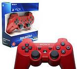 Джойстик контроллер геймпад для Sony PlayStation 3 DualShock Беспроводной ps3 bluetooth пс3 красны ( Реплика ), фото 6
