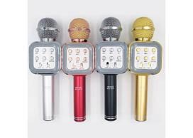Мікрофон+mini speaker Karaoke WS-1818 bluetooth red 4932 WS-1818