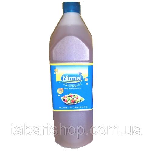 Кунжутное масло KLF Nirmal сыродавленное, 1000 мл