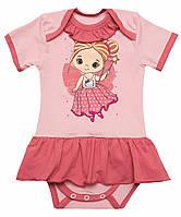 Боди-платье для девочки летнее