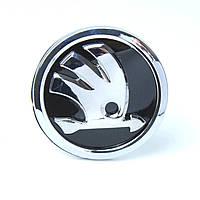 Логотип эмблема Skoda 90мм (копия), фото 1