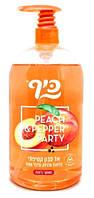Рідке мило Keff Персик та перець Silky Soapless Soap Peach & Pepper 1 л., арт.356199