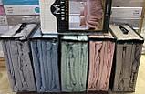 Комплект Постельного Белья С Простыню На Резинке Вафельным Покрывалом - Пледом Турция MODALITA Серый, фото 3