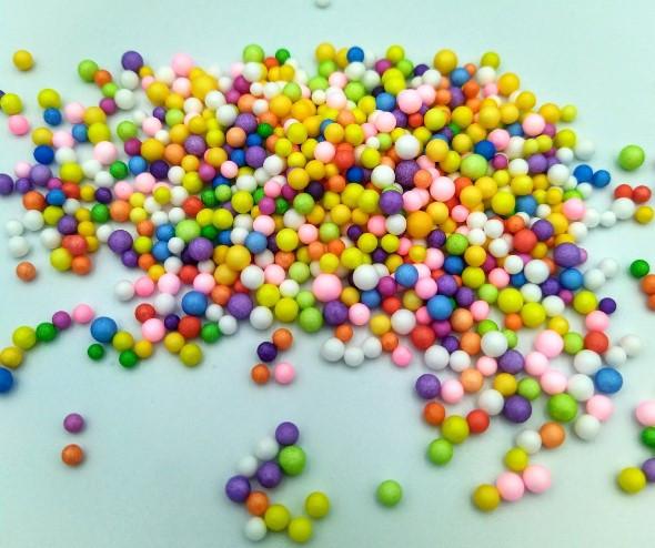 Разноцветные шарики для слаймов (57528)