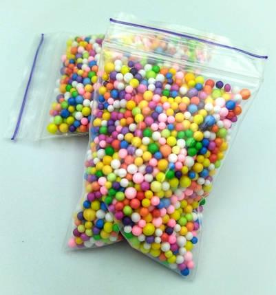 Кульки «Сині» для слаймов, фото 2