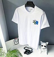 Мужская футболка Lacoste белая