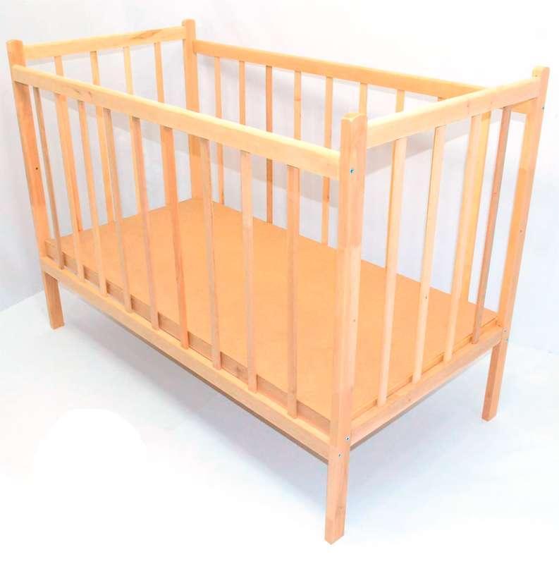 Гр *Кроватка деревянная №1 (1)