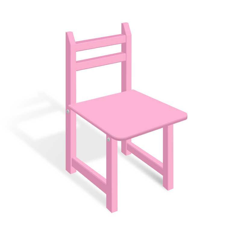 Гр Стільчик СЦ 002 колір рожевий, 32см