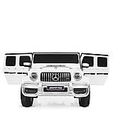 Детский электромобиль Джип Mercedes Мерседес Гелентваген M 4259 Белый, фото 5