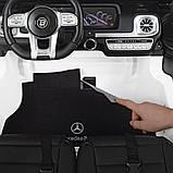 Детский электромобиль Джип Mercedes Мерседес Гелентваген M 4259 Белый, фото 7