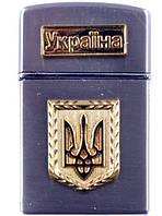 Зажигалка карманная Украина (турбо пламя)
