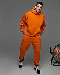 Спортивний костюм оверсайз Гармата Вогонь Scale 2.0 помаранчевий
