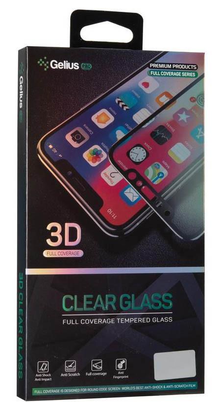 Защитное стекло Realme C3 с полным покрытием экрана телефона Gelius Pro 3D.