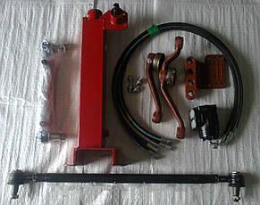 Переоборудования рулевого управления насос дозатор на МТЗ 80 с гидробаком, фото 2