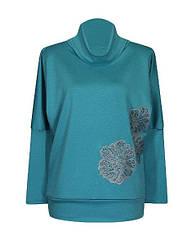 Модные женские туники с длинным рукавом