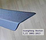 Пластикова захисна накладка заднього бампера для SsangYong Rexton I,II 2001-2013, фото 4