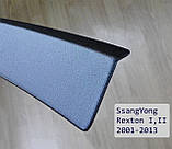 Пластикова захисна накладка заднього бампера для SsangYong Rexton I,II 2001-2013, фото 2